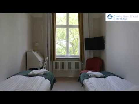 Systerrum som dubbelrum på Ersta konferens & hotell