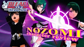 Bleach Brave Souls (Gameplay): NOZOMI character review