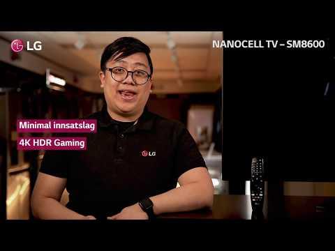 LG NanoCell SM8600 - En NanoCelle-TV for alle anledninger og vinkler