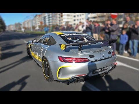 Mercedes-AMG GT4 – REVS & ACCELERATIONS!