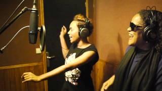 Studio session : Lynnsha + Jocelyne Beroard x Fanm Kreyol. oct 2011