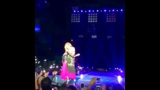 "Madonna Sings ""Crazy For You"" Live (First Time in 30 Years!) in Philippines"