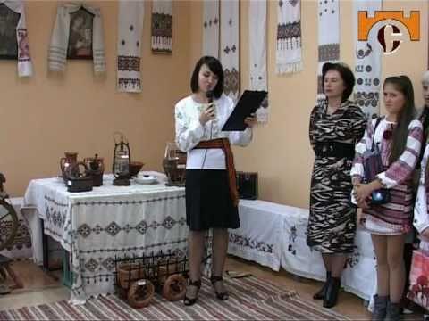 Виставка народних майстрів у Тисмениці.Франківщина.