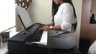 August Alsina - Nobody Knows (piano cover) by Aisulu Zhakisheva