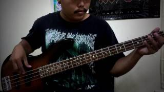 Avenged Sevenfold   God damn Bass cover