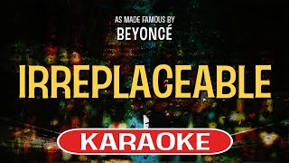 Irreplaceable Karaoke Version by Beyonce