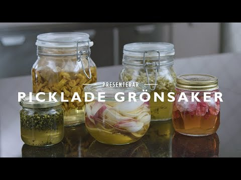 Matlagningstips från Jakob Kofoed - Picklade grönsaker