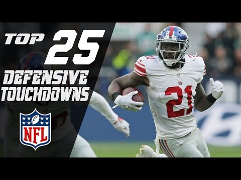 Top 25 Defensive Touchdowns of the 2016 Season | NFL Highlights