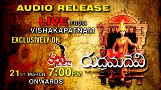 Rudhrama Davi Audio Relese LIVE on Vanitha TV - 21st & 22nd March 2015