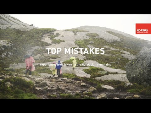 Top Hiking Mistakes