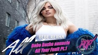 Bebe Rexha desvela fecha de All Your Fault Pt. 1