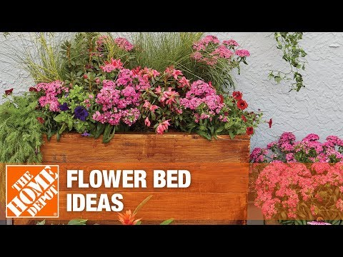 Flower bed ideas for your yard.