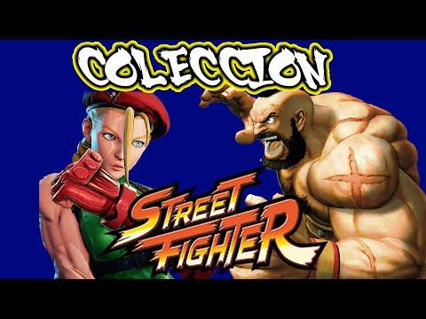 COLECCION FIGURAS STREET FIGHTER ENTREGAS 10 Y 11