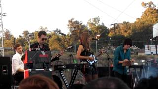Chromatics - Night Drive (Live @ FYF Fest in Los Angeles, Ca 9.1.2012)