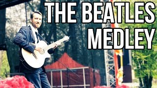 The Beatles Medley (live acoustic covers by Andrey Gaiduk)