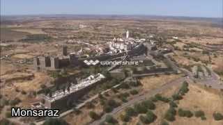 Aerial footage Portugal