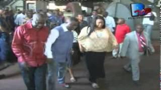 Ngoyi Kasanji fait une descente à Tshala pour s'enquerir de l'etat des lieux de la centrale Hydroéle