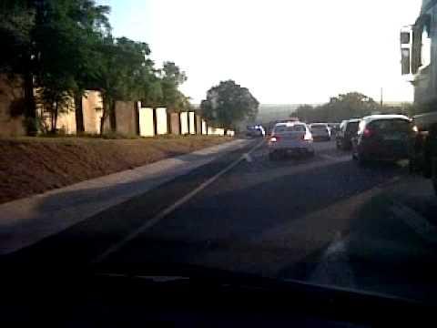 Traffic on N1 South Africa