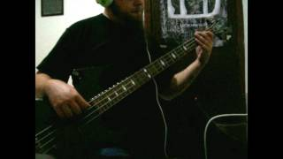 Deicide - Lunatic of God's Creation (bass cover)