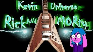 Rick and Morty Live Action Rock Intro (Theme Guitar Cover) Fan Made
