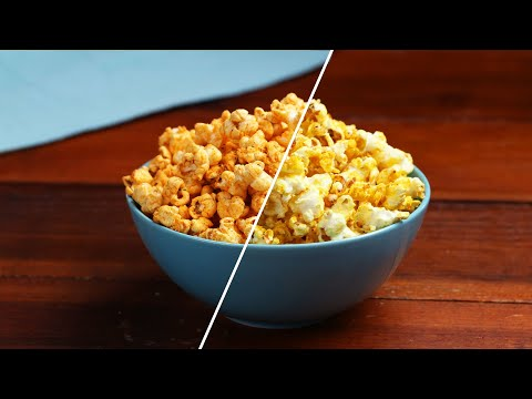 Flavored Popcorn That Will Upgrade Your Movie Night ? Tasty