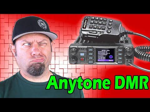 Anytone REVEALS New DMR Mobile Radio   AT-D578UVIII Plus Triband Ham Radio