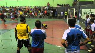 Gol de Kekel - Campeonato de Blocos de 2016 - Os Bolachetes vs RFC