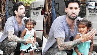Sunny Leone's Daughter Nisha Playing With Father Daniel Weber   LehrenTV width=