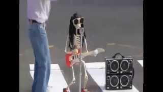 Titere Esqueleto Rod Stewart
