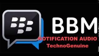 BlackBerry BBM Notification Tone 100% HD - Download Free
