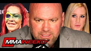 Dana White Likes the Idea of Cris Cyborg vs. Holly Holm Next