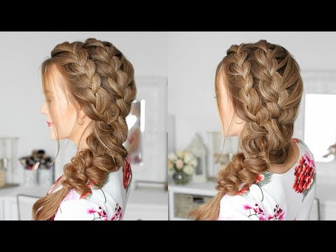 Double Side French Braids | Missy Sue