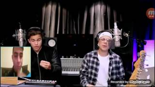 Fake Love, Broccoli & Caroline -  (William Singe and Alex Aiono Mashup) - Reaction