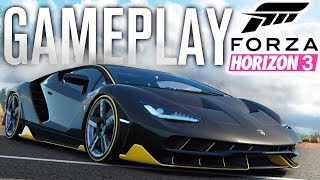 FORZA HORIZON 3 GAMEPLAY ( E3 2016 )