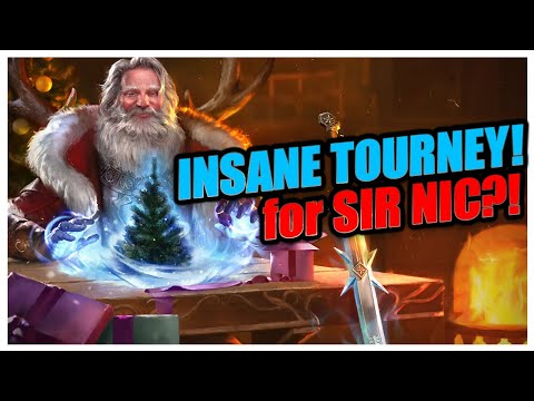 INSANE TOURNAMENT! | Holiday Wrap-Up! | RAID Shadow Legends