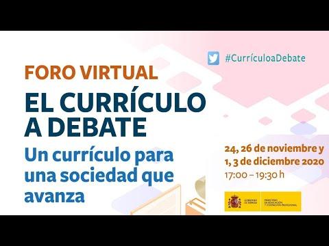 El Currículo a debate FORO 4:¿QUÉ PODEMOS APRENDER DE NUESTRO ENTORNO?