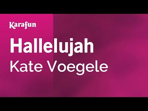 Karaoke Hallelujah Kate Voegele Chords Chordify