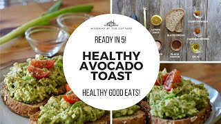AVOCADO TOAST - Vegetarian's LOVE this!