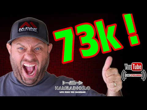 73,000 Subscriber Giveaway and Operating as KA6LMS/5