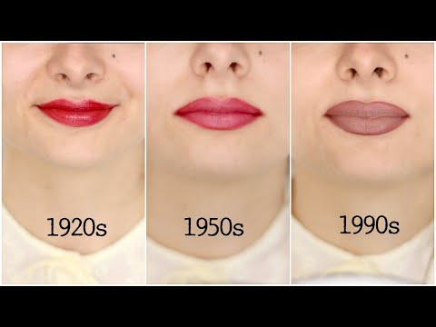 Lipstick Through The Decades | A Short History