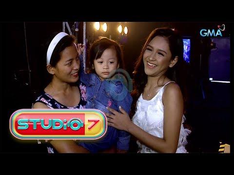 Studio 7: Golden Cañedo meets her youngest fan!