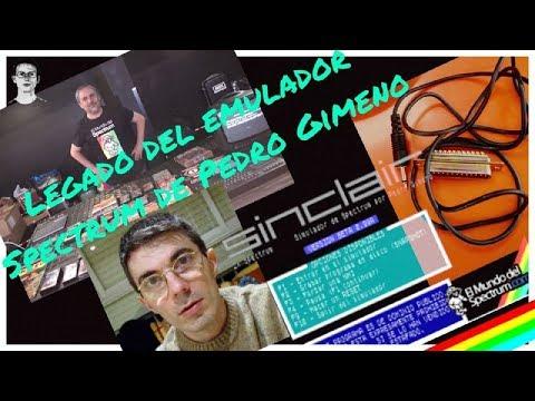 Legado del emulador Spectrum de Pedro Gimeno