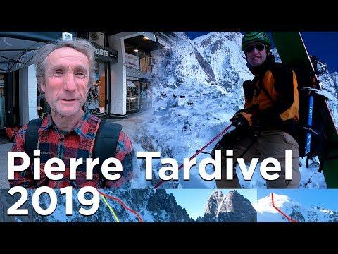 Pierre Tardivel rencontre dans les rues de Chamonix skieur extrême photographe animalier