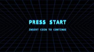 PRESS START - simple video game intro