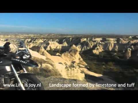 Netherland to Turkey 1/3 Holland to Nepal on BMW R1200GS motorbike motorcycle cappadocie