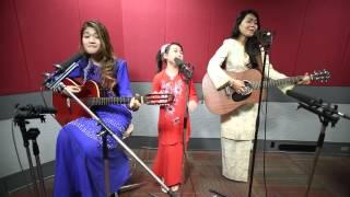 ERAkustik Raya Qierra, Wani Kayrie & Yoyo - Senyuman Di Pagi Raya