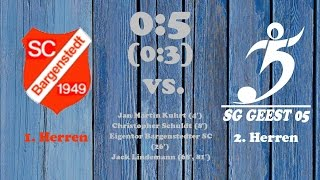Highlights Bargenstedter SC vs. SG Geest 05 II - 05.03.2017
