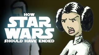How Star Wars Episode IV Should Have Ended