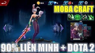 ChÆ¡i thá» game Moba Craft trên Ä'iện thoại giống Liên minh và Dota 2 đến 90% cá»±c đẹp