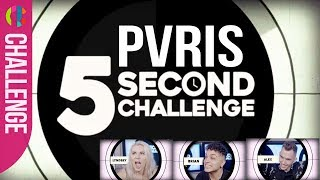 PVRIS | The Playlist | 5 second challenge!